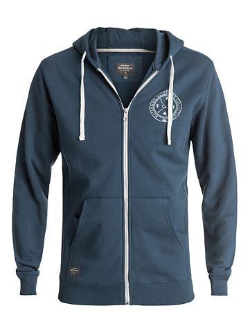 Пуловер с капюшоном с замок »Wat...