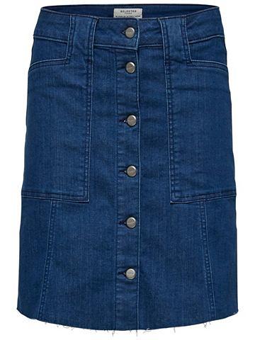 Slim-Fit юбка джинсовая