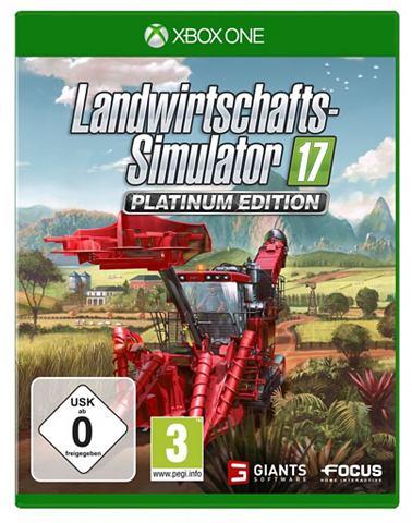 XBOX One - Spiel »Landwirtschaft...