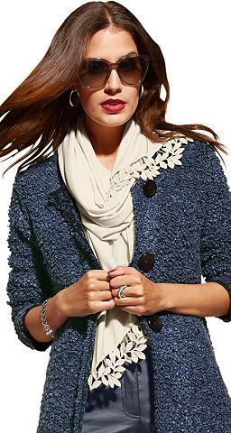 Création L шарф с изящный Spitz...