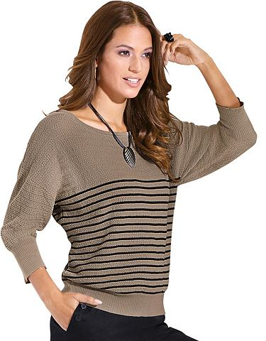 Пуловер в attraktivem Strukturstrick