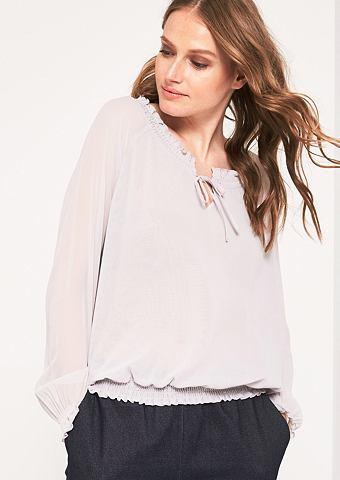 Блузка с длинным рукавом из hauchzarte...