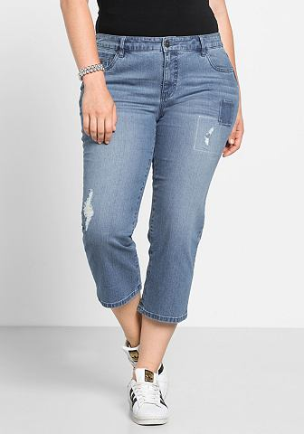 Sheego джинсы 3/4 джинсы