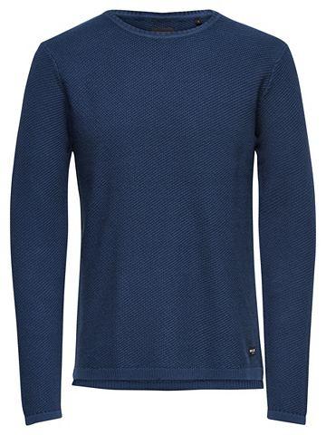 ONLY & SONS одноцветный пуловер тр...