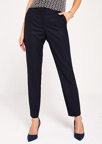 Деловые брюки с Ton-in-Ton мелкий узор...