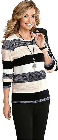 Пуловер с Streifen-Muster