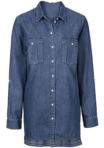 CLASSIC INSPIRATIONEN Блуза из чистый хлопок