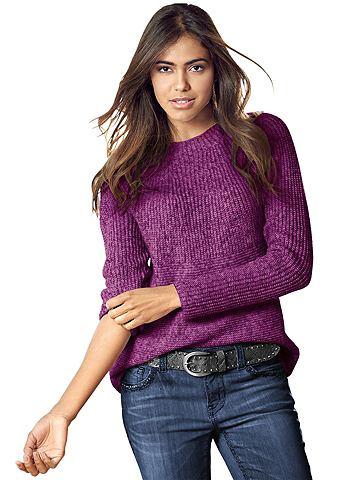 Пуловер в Melange-Optik