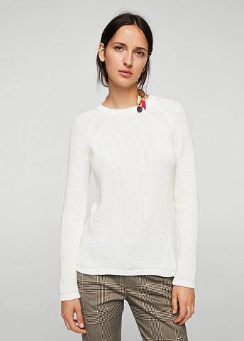 Пуловер трикотажный из хлопок