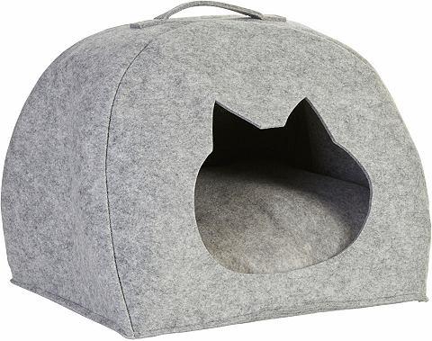 Katzen-Körbchen Filz 45x38x33