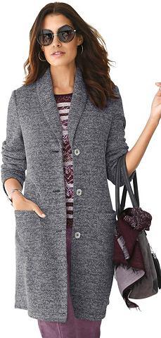 Пальто в effektvoll melierter качестве...
