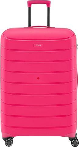 ® Пластиковый чемодан на колесах с...