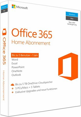 ® Office 365 Home Mac/Windows