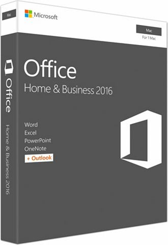 Office Mac Home and деловой 2016 (CD-R...