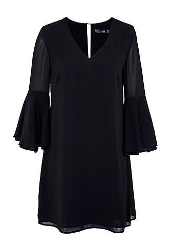 Doppellagiges мини-платье с Volant-&Au...