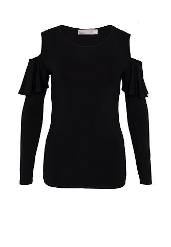 Cold Shoulder футболка с Ärmel-Vo...
