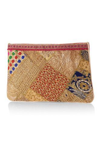 Клатч сумка в модный узор
