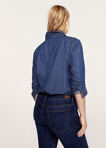 Рубашка джинсовая с Brusttaschen