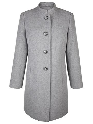 Шерстяное короткое пальто с Kaschmir
