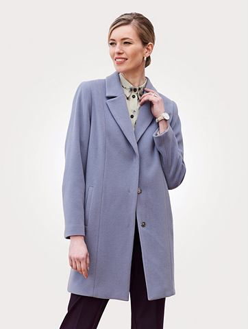 Пальто короткое из Flanellgewebe