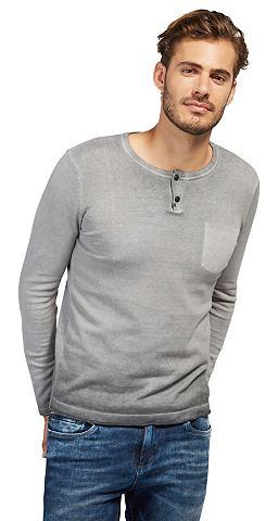 Пуловер Свитер с Patches«