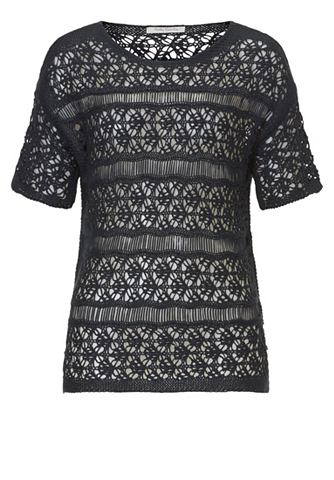 Кружевная блуза с короткий рукава