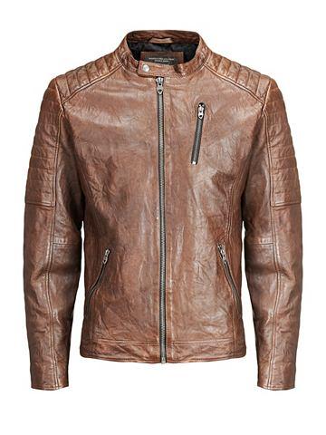 Jack & Jones Biker- куртка кожаная...