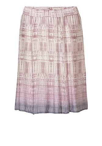 A-Linien юбка с узор