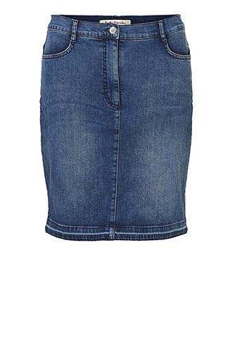 Юбка джинсовая с praktischen карманы