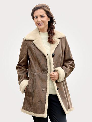 Пальто короткое в antiker из искусстве...