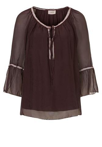 Блуза из Seiden Viscose шифон
