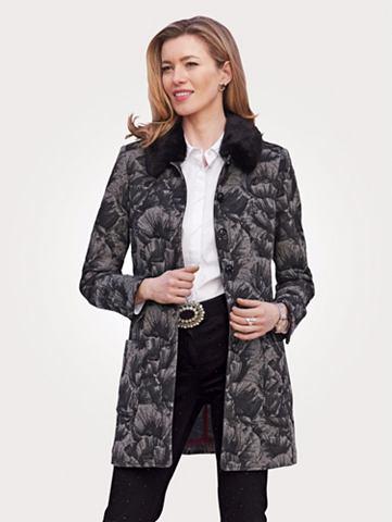 Сюртук, пиджак длинный в Jacquard-Qual...
