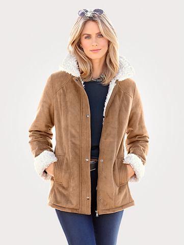 Куртка из Lammfellimitat