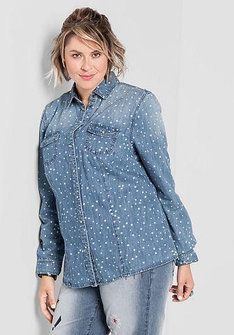 Sheego джинсы джинсовая блузка