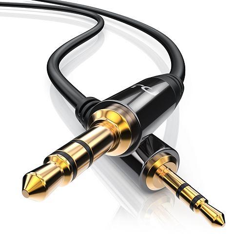 PRIMEWIRE 25mm AUX Audio Klinke Verbindungskabel...