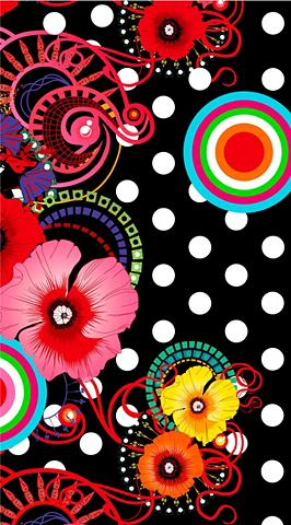Пляжное полотенце »Flamenco&laqu...