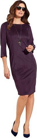 Платье из мягкий имитация замши