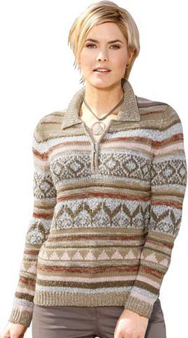 Пуловер с красивый дизайн