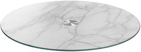 Servierplatte Marmor Ø 33 cm &r...