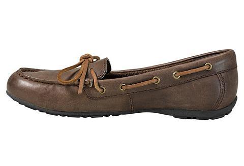 Leather Moc туфли-слиперы