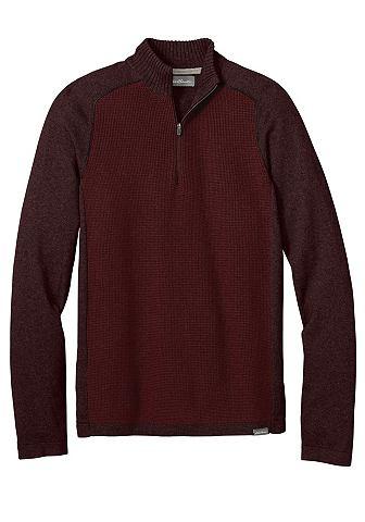 Пуловер с воротник стойка