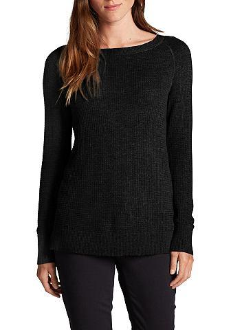 Пуловер в Waffelstruktur