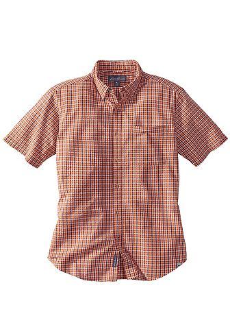 Рубашка сирсакер с Button-Down-Kragen