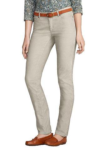 Узкий Leg брюки вельветовые
