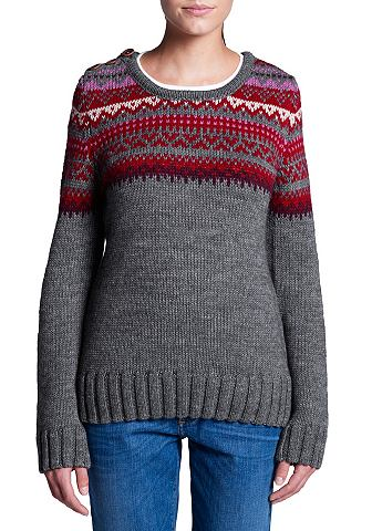 Merino-Wollmix пуловер