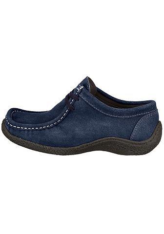Ботинки со шнуровкой из Veloursleder