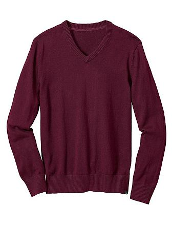 Пуловер с V-образным вырезом с Kaschmi...