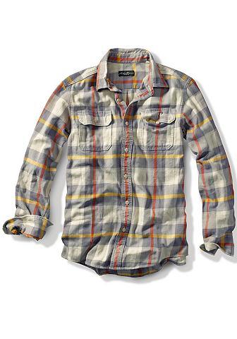 Рубашка твиловая в клетку