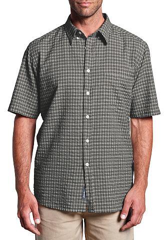 Рубашка сирсакер