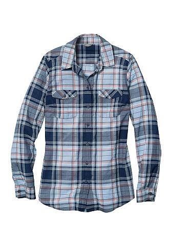 Classic Packbare блуза - в клетку